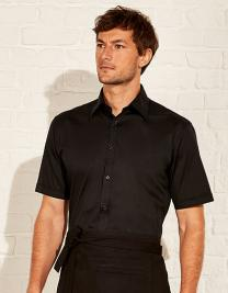 Men´s Tailored Fit Bar Shirt Short Sleeve