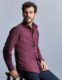 Men´s Long Sleeve Fitted Stretch Shirt